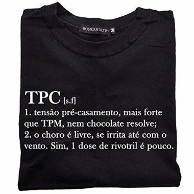 Camiseta Tensão Pré Casamento Feminino – Amazon 2