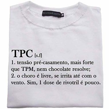 Camiseta Tensão Pré Casamento Feminino – Amazon