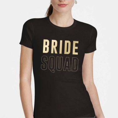 Cartela Papel Transfer Para Camiseta Letras Bride Squad 2