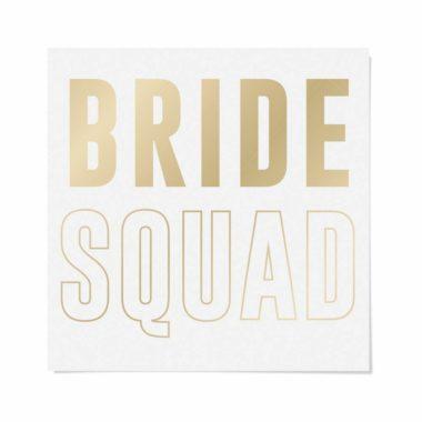 Cartela Papel Transfer Para Camiseta Letras Bride Squad