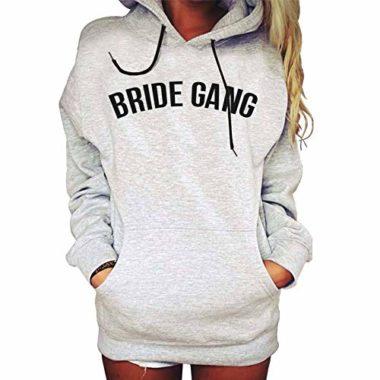 Casaco Moletom Canguru Bride Gang