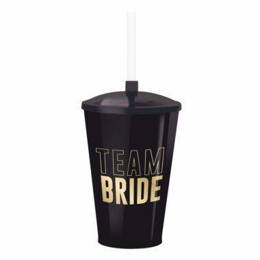 Copo Plástico 500Ml Team Bride