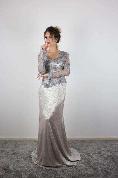 Vestido bordado Fernanda Padin 1