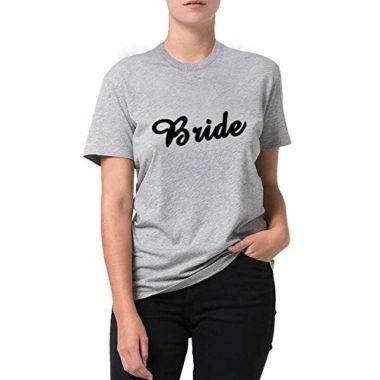 camiseta bride cinza