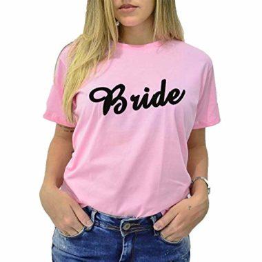 camiseta bride rosa