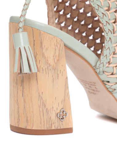sandalia verde capodarte 3