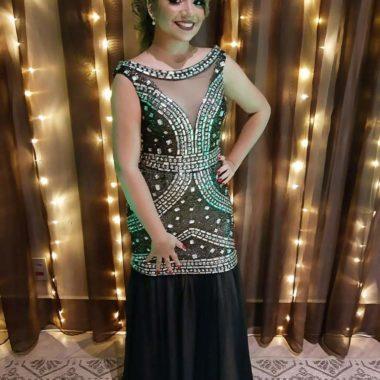 vestido de festa com pedrarias 1