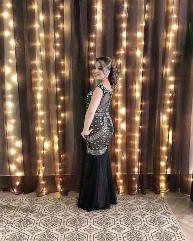 vestido de festa com pedrarias 2