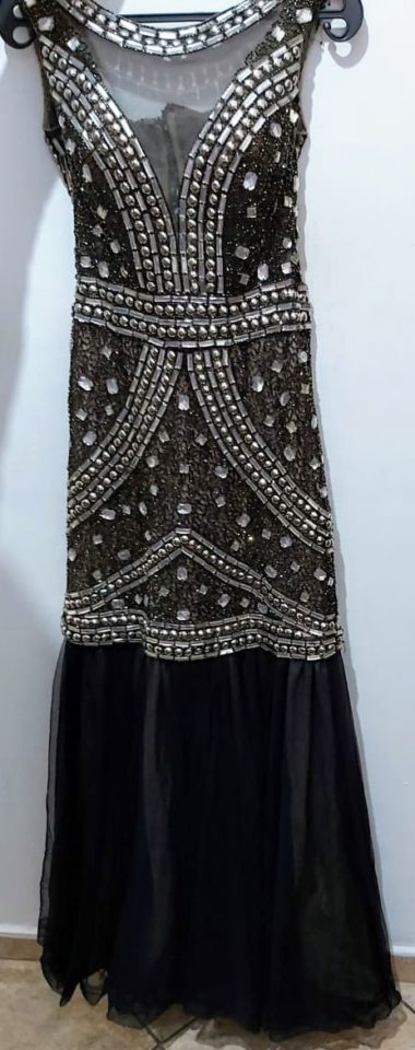 vestido de festa com pedrarias 3