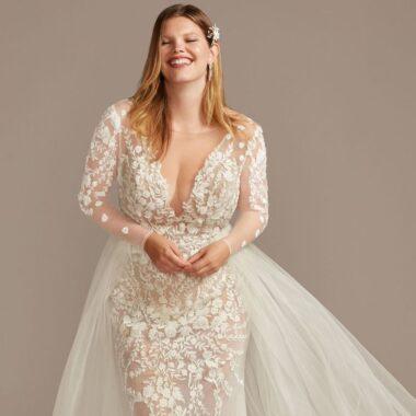 15 Vestidos de Noiva Plus Size para você se apaixonar
